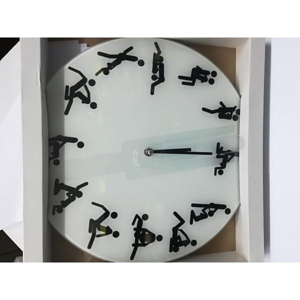 Ρολόι τοίχου με στάσεις kamasoutra