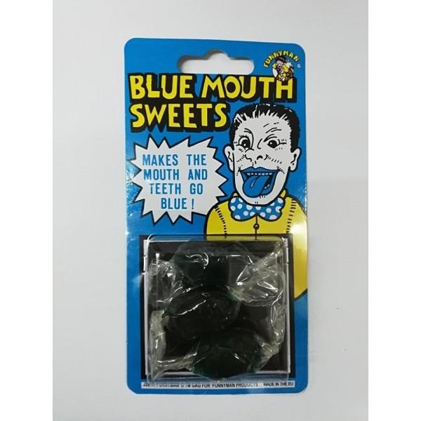 Τρικ Καραμέλες που βάφουν το στόμα μπλέ
