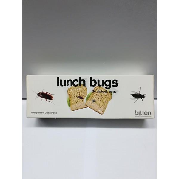 Σακουλάκια για το τοστ  με ζωγραφισμένες κατσαρίδες