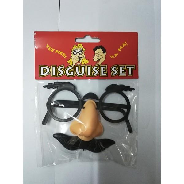 Γυαλιά με μύτη και μουστάκι